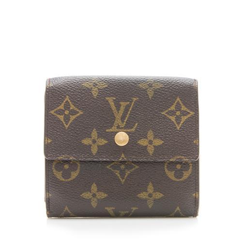 Louis Vuitton Monogram Canvas Elise Wallet