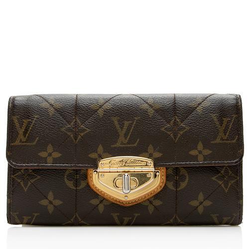 Louis Vuitton Monogram Canvas Etoile Sarah Wallet