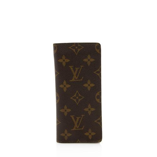 Louis Vuitton Monogram Canvas Etui Lunettes Eyeglasses Case