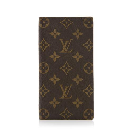 54a2717f69d1 Louis-Vuitton-Monogram-Canvas-European-Checkbook -Cover 99787 front large 0.jpg