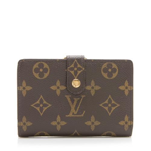 Louis Vuitton Monogram Canvas French Purse Wallet - FINAL SALE