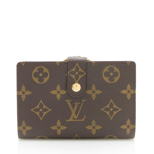 Louis Vuitton Monogram Canvas French Purse Wallet ab02894e9e2a4