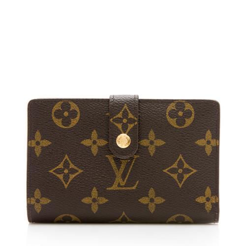 Louis Vuitton Monogram Canvas French Purse Wallet ab02894e9e2a4