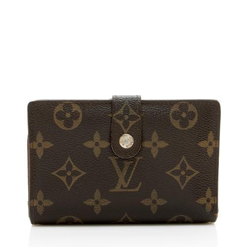 Louis Vuitton Monogram Canvas French Purse Wallet