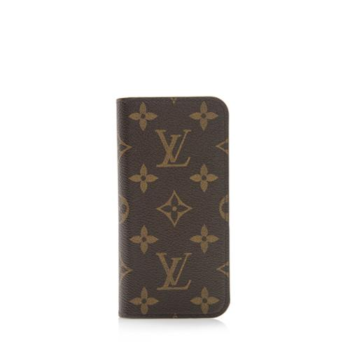 huge selection of 33dac 0b578 Louis Vuitton Monogram Canvas Iphone 7 Folio Case