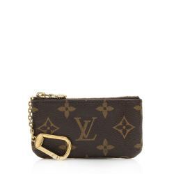 Louis Vuitton Monogram Canvas Key Pouch