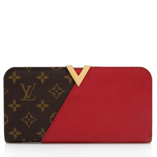 Louis Vuitton Monogram Canvas Leather Kimono Wallet