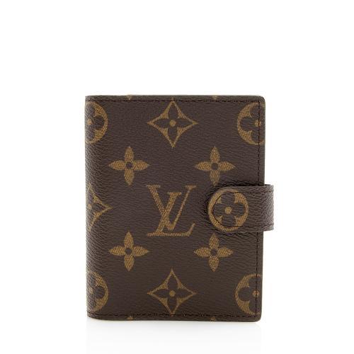Louis Vuitton Monogram Canvas Mini Agenda Cover