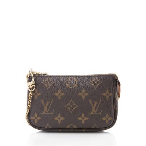 Louis Vuitton Monogram Canvas Mini Pochette Accessoires