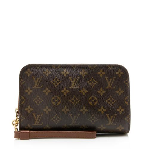 Louis Vuitton Monogram Canvas Orsay Pochette