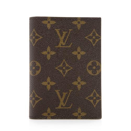 Louis Vuitton Monogram Canvas Passport Cover