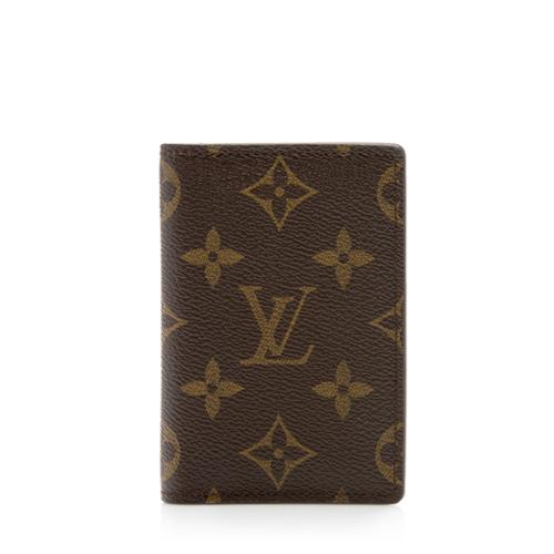 Louis Vuitton Monogram Canvas Pocket Organizer Wallet