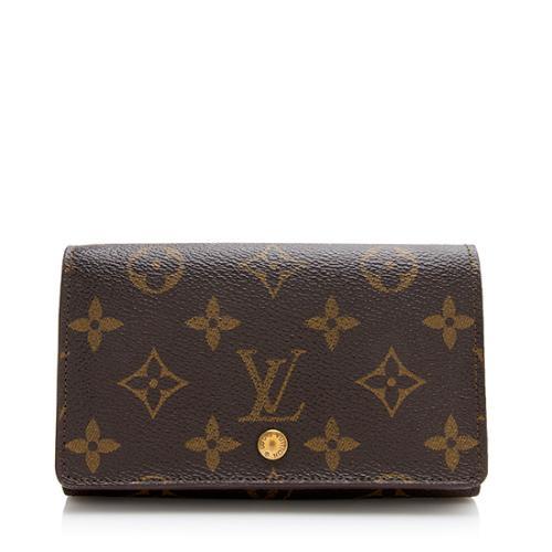 Louis Vuitton Monogram Canvas Porte Monnaie Billets Wallet