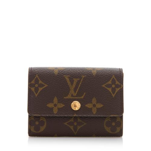 4d083f2b1689 Louis-Vuitton-Monogram-Canvas-Porte-Monnaie-Plat-Coin -Case 86160 front large 0.jpg