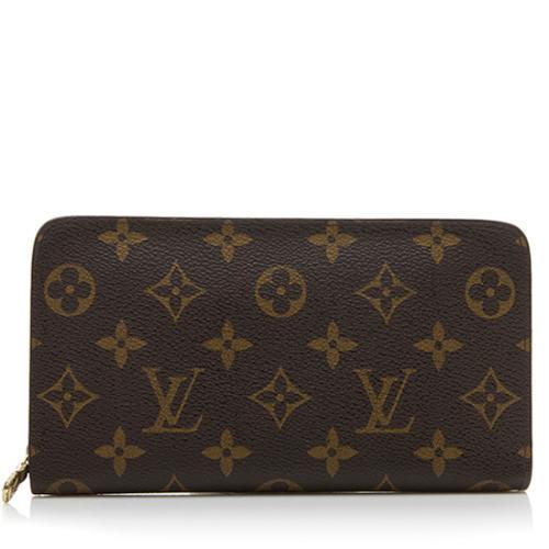 Louis Vuitton Monogram Canvas Porte Monnaie Zippy Wallet