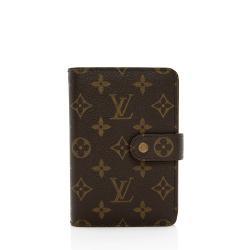 Louis Vuitton Monogram Canvas Porte Papier Zipper Wallet
