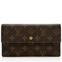 Louis Vuitton Monogram Canvas Porte Tressor International Wallet
