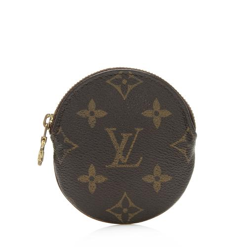 Louis Vuitton Monogram Canvas Round Coin Pouch