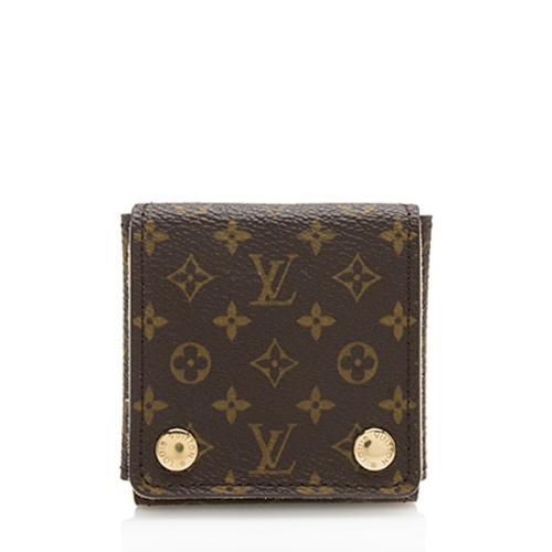 Louis Vuitton Monogram Canvas Small Jewelry Case