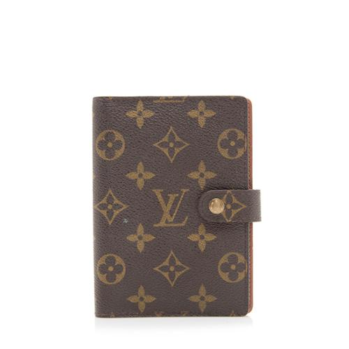Louis Vuitton Monogram Canvas Small Ring Agenda Cover - FINAL SALE