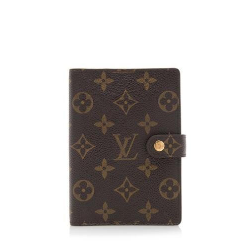 31f4e0455240 Louis-Vuitton-Monogram-Canvas-Small-Ring-Agenda -Cover 99800 front large 0.jpg