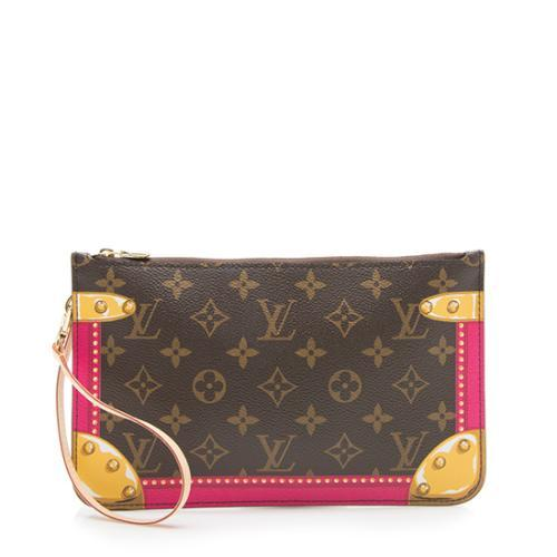 Louis Vuitton Monogram Canvas Summer Trunk Neverfull MM Pochette