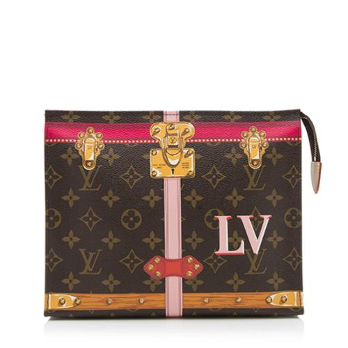 Louis Vuitton Monogram Canvas Summer Trunk Toiletry Pouch 26