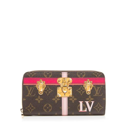 Louis Vuitton Monogram Canvas Summer Trunk Zippy Wallet