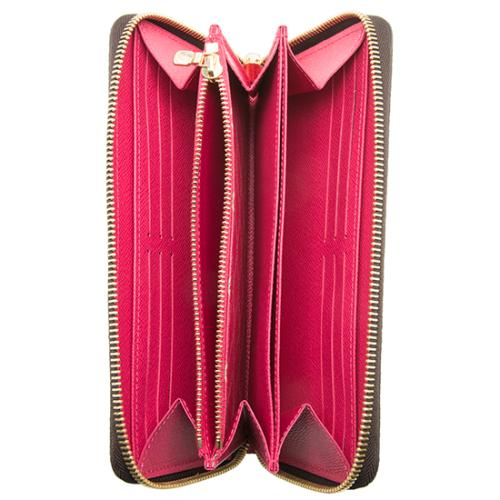 e85ea1686d0 Louis Vuitton Monogram Canvas Summer Trunk Zippy Wallet