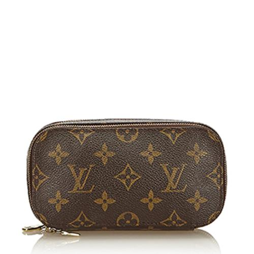 Louis Vuitton Monogram Canvas Trousse Blush PM Cosmetic Bag