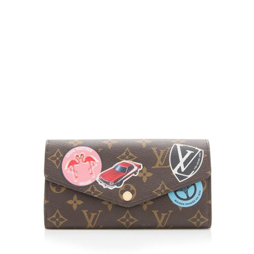 Louis Vuitton Monogram Canvas World Tour Sarah Wallet