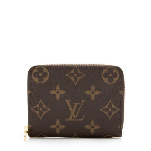 Louis Vuitton Monogram Canvas Zippy Coin Wallet