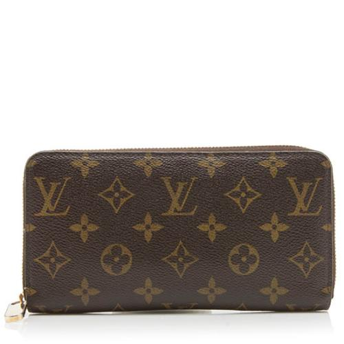 Louis Vuitton Monogram Canvas Zippy Wallet
