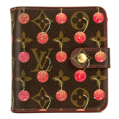 Louis Vuitton Monogram Cherry Porte-Tresor Wallet