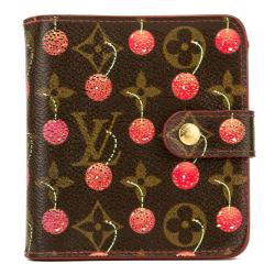 Louis Vuitton Monogram Cherry Porte-Tresor Wallet