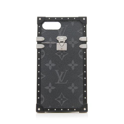 dce187f834fa Louis-Vuitton-Monogram-Eclipse-Eye-Trunk-iPhone-7-Plus -Case 96181 front large 0.jpg