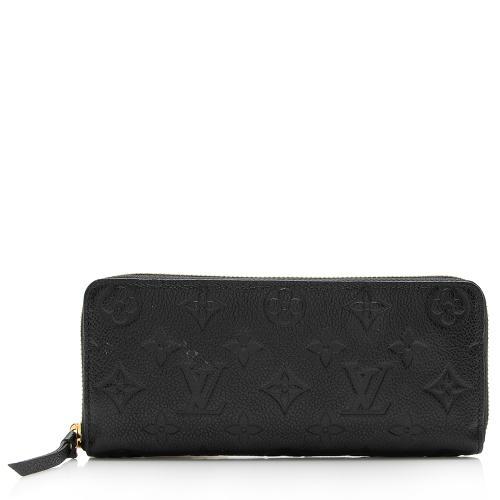 Louis Vuitton Monogram Empreinte Clemence Wallet
