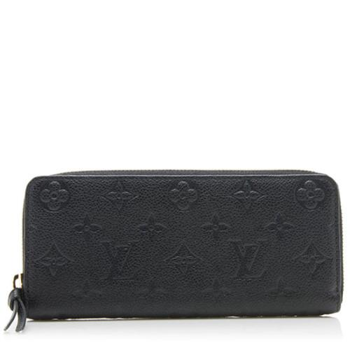 Louis Vuitton Monogram Empreinte Clemence Wallet