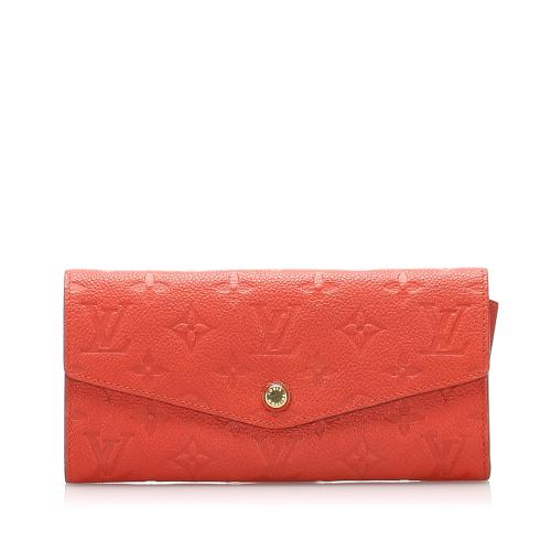 Louis Vuitton Monogram Empreinte Curieuse Long Wallet