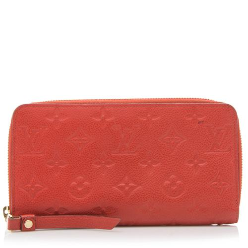 Louis Vuitton Monogram Empreinte Secret Long Wallet