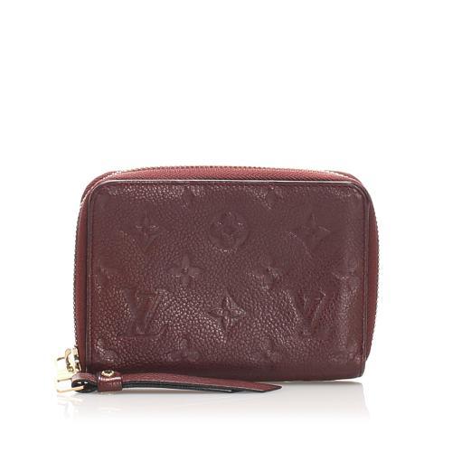 Louis Vuitton Monogram Empreinte Zippy Small Wallet