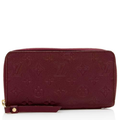 Louis Vuitton Monogram Empreinte Zippy Wallet