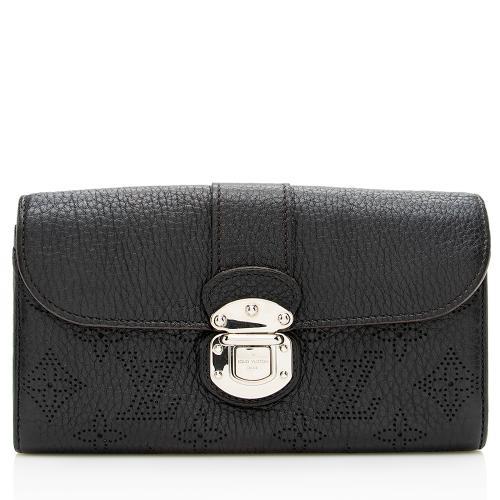 Louis Vuitton Monogram Mahina Leather Amelia Wallet