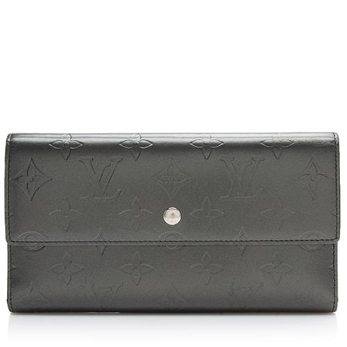 Louis Vuitton Monogram Mat Porte Tresor International Wallet