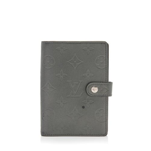 Louis Vuitton Monogram Mat Small Agenda Cover