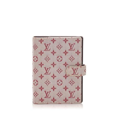 Louis Vuitton Monogram Mini Lin Small Ring Agenda