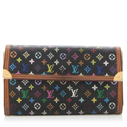 Louis Vuitton Monogram Multicolore Porte Tresor International Wallet - FINAL SAL
