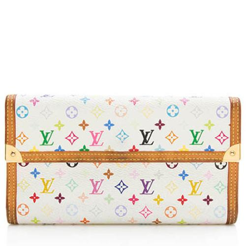 Louis Vuitton Monogram Multicolore Porte Tresor International Wallet