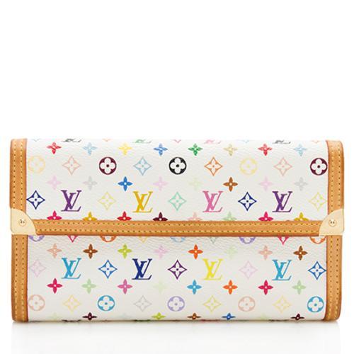Louis Vuitton Monogram Multicolore Porte Tresor International Wallet