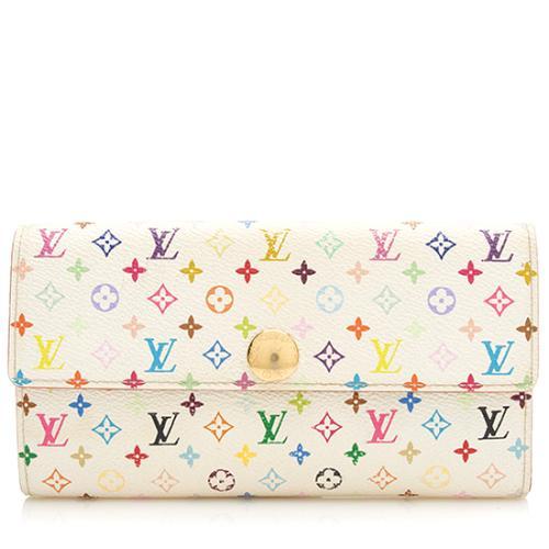 Louis Vuitton Monogram Multicolore Sarah Wallet